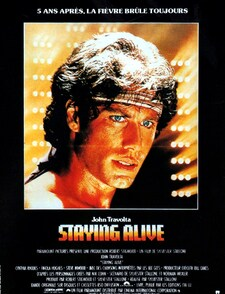 Staying Alive BOX OFFICE FRANCE 1983