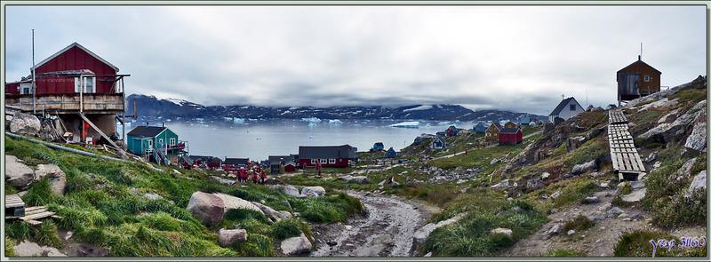 Retour vers le bas du village - Kullorsuaq - Qaasuitsup - Groenland