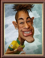Avatars personnages connus masculins, Caricatures.