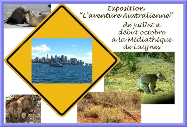 """""""L'aventure australienne"""" à la médiathèque de Laignes"""