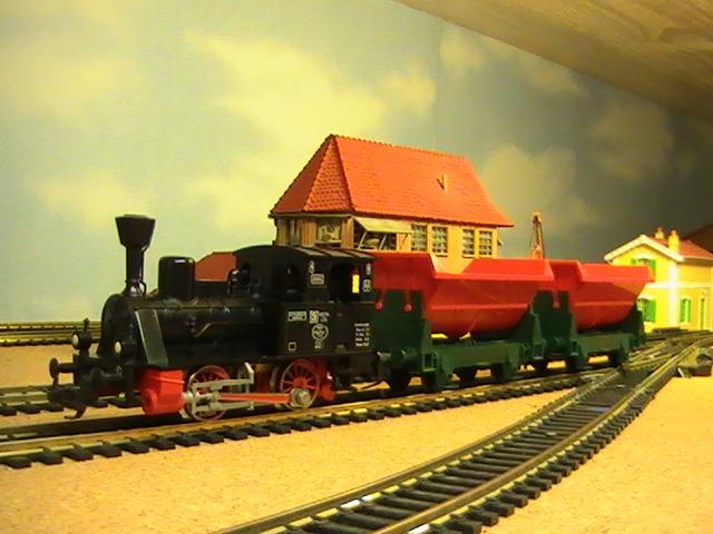 Réseau moulinsard II - Session Fleischmann - Mes trains de marchandises - 1° partie.