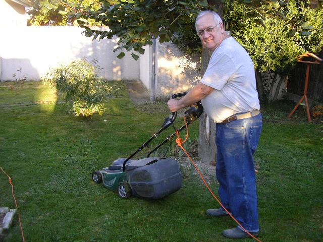 Pierre mon jardinier et Mari