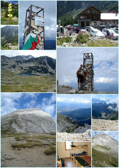 Le mont VIHREN août 2014