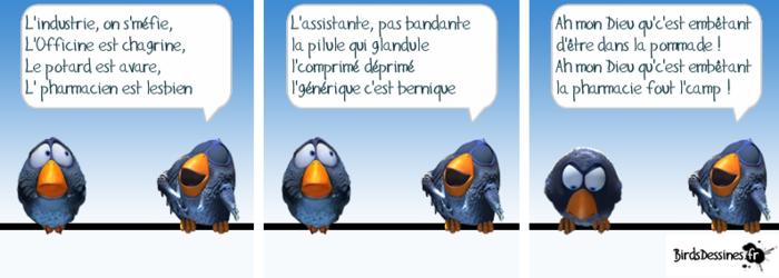 """Les """"gentils"""" Birds !...."""