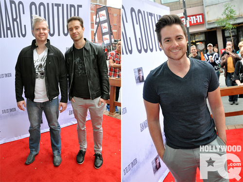 Hollywood PQ - Sébastien et Jay Lefebvre travaillent ensemble au quatrième album de Wilfred LeBouthillier