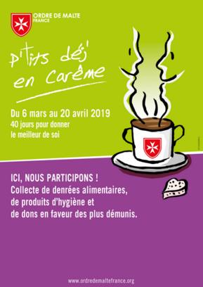 P'tits déj' en Carême Du 6 mars au 20 avril 2019
