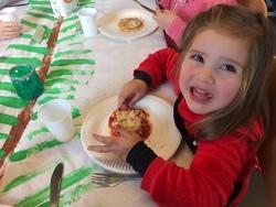 """Atelier cuisine """" Pizza """" en maternelle."""