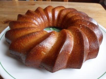 *** Gâteau au caramel au beurre salé ***