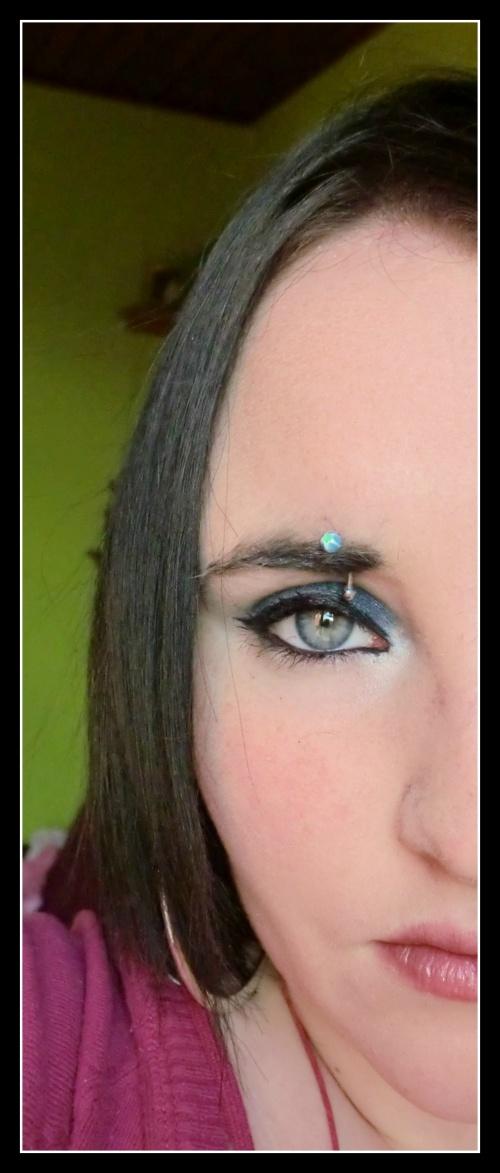 Nat : Make-up du jour avec un pigment ELF