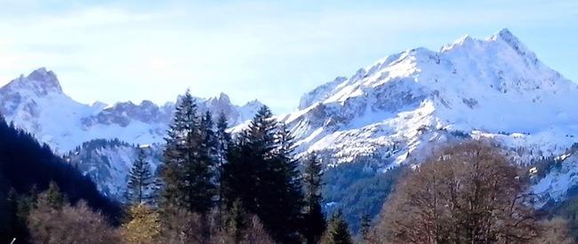 Au revoir les Alpes....