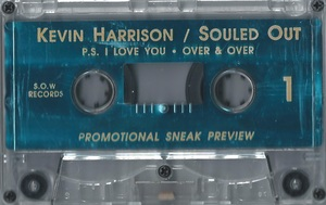 KEVIN HARRISON - SOULED OUT (PROMO 1993)