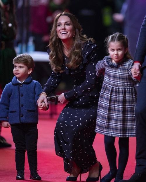 William Kate et leurs enfants au Palladium