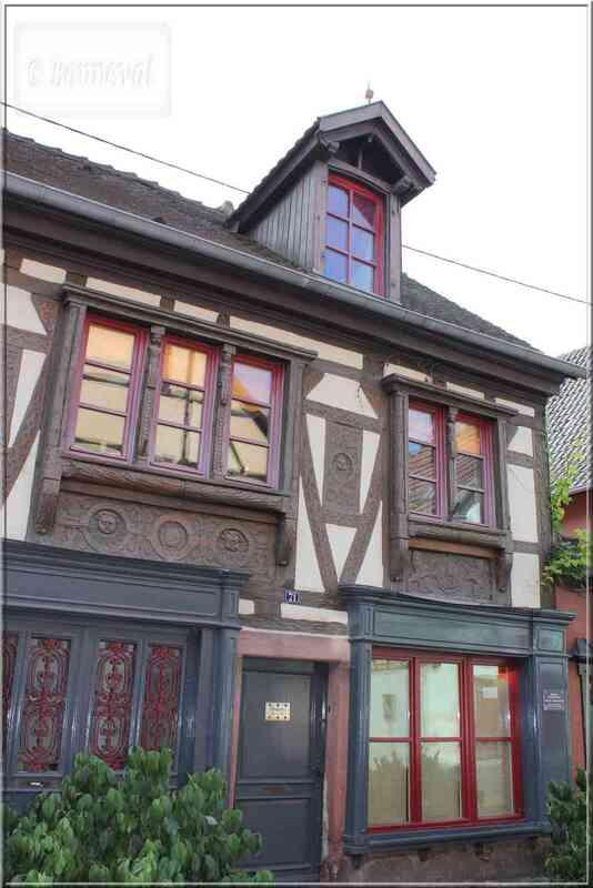 Alsace Route des Vins Turckheim maison du boulanger Schwendelin