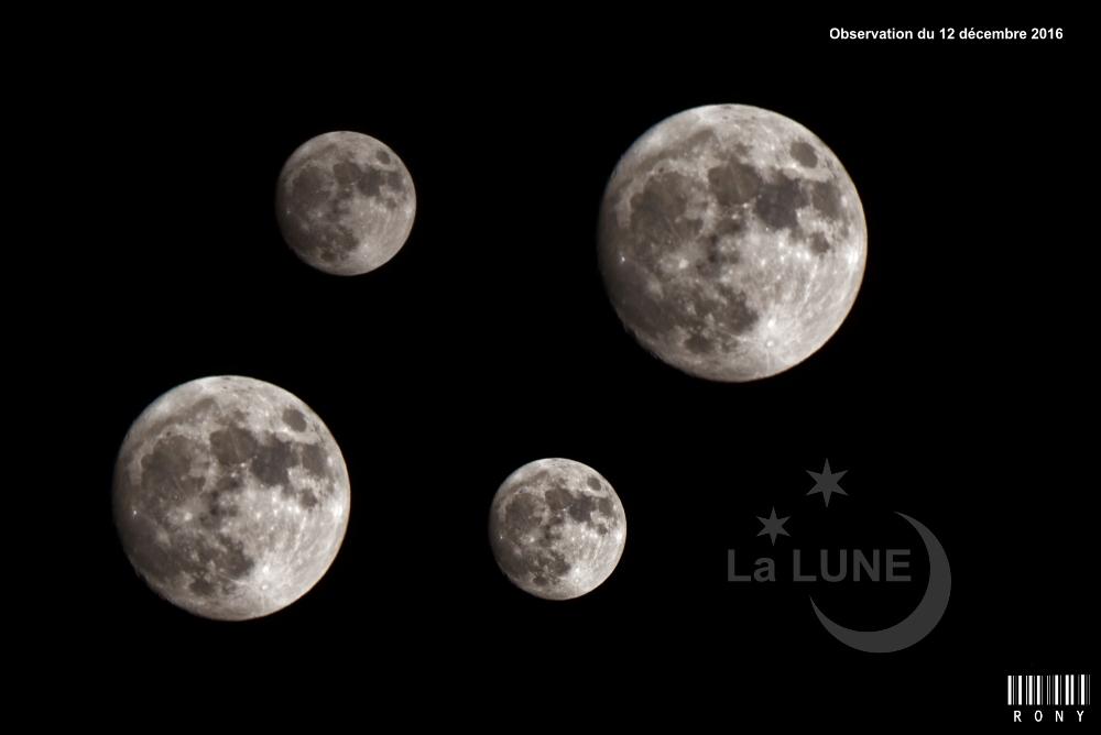 La Lune, nouvelle observation