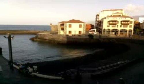 En fin d' après-midi à Nancy et à Puerto de La Cruz