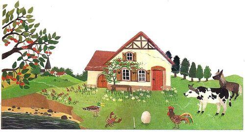 Natha Caputo, La maison des trois loups