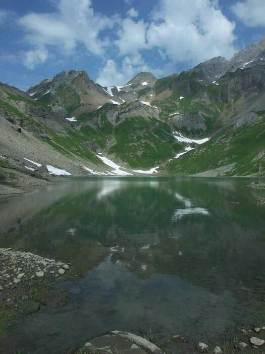 lacs de la vallée du Giffre