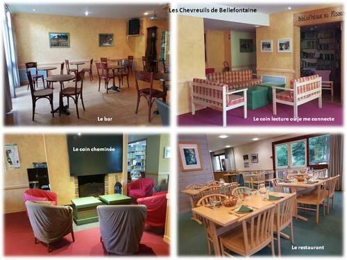 """Le centre de vacances """"Les Chevreuils"""" à Bellefontaine"""
