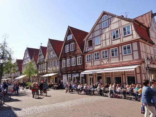 Les belles rues et maisons de Celle en Allemagne (photos)