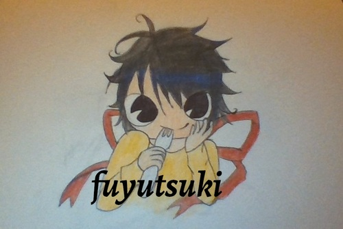 mes dessins n°10 (death note)