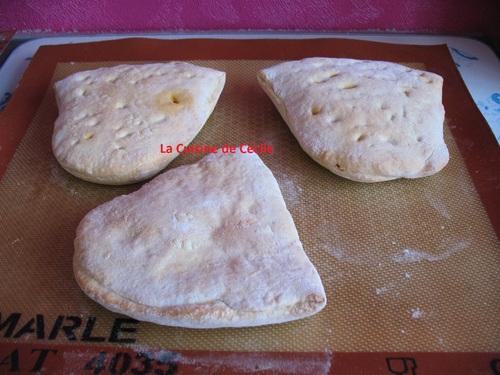 NAAN fromage frais et chorizo