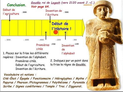 Premiers Etats, Premières écritures