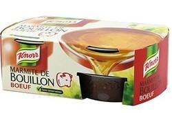 Marmite de bouillon Knorr