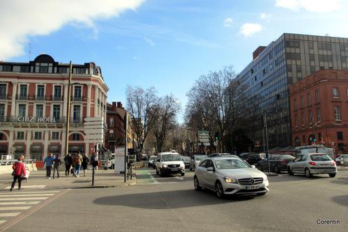 Dans Toulouse en fin février ! (1)