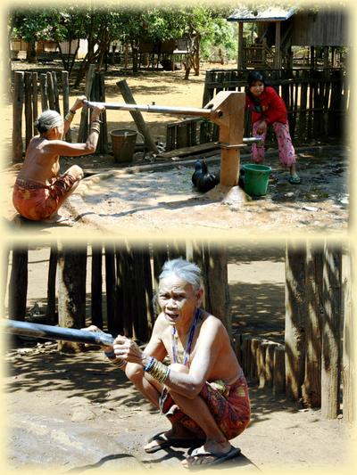 Blog de images-du-pays-des-ours :Images du Pays des Ours (et d'ailleurs ...), Point d'eau - Village de l'ethnie Kreung - Rattanakiri - Cambodge