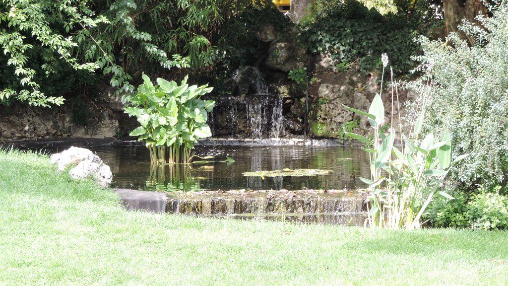 cascade au parc Gambetta à Bordeaux