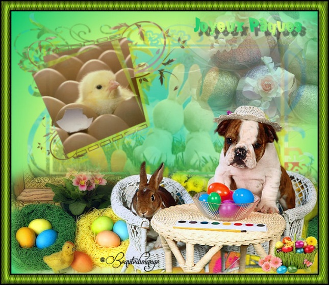 Créas Pâques ( cookies )