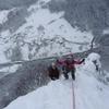 Ambiance hivernale au Sappey