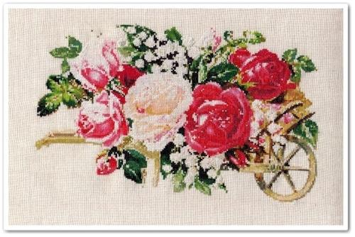 Victorian Rose Cart 13