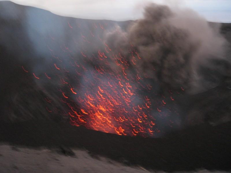 Mt Yasur eruption (420615528)
