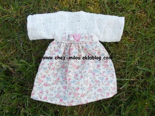 Première robe pour Mily