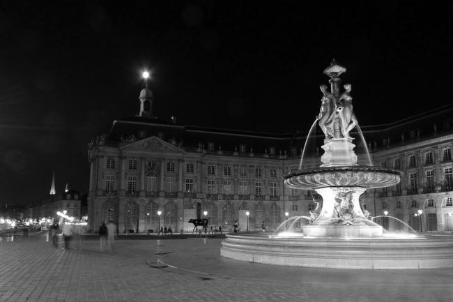 Bordeaux, la nuit