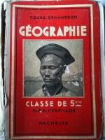 Livres d'école anciens - Histoire et Géographie