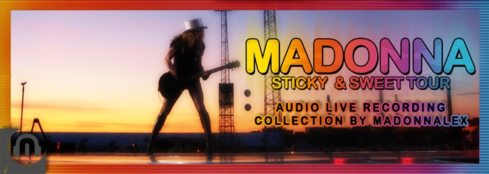 Madonna - The Sticky & Sweet Tour - Audio Live Recordings Collection