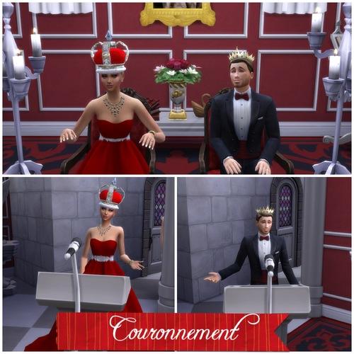Le couronnement d'Ely et Oliver !