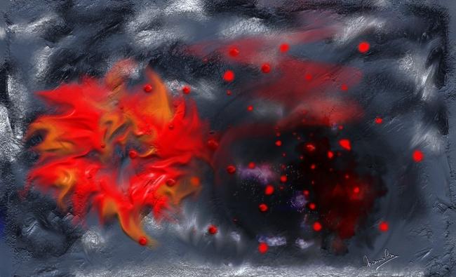 Planète en feu