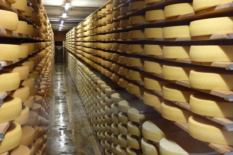 Visite à Gruyères (3) : la fromagerie