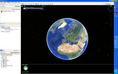 Visitez le monde entier avec google earth