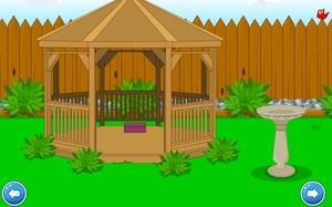 Jouer à Backyard escape