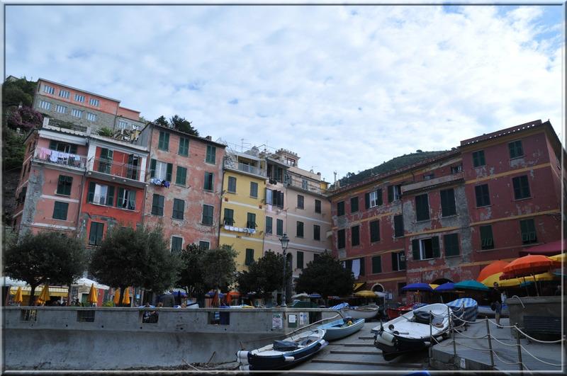 Italie, les 5 Terres : Vernazza, le port