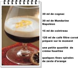 Café à l'orange