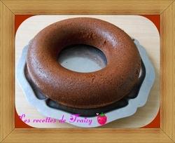 Cake à la danette au chocolat