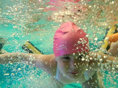 dernière séance de piscine