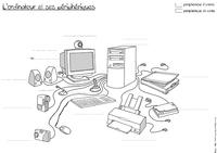 Connaître les principaux éléments composant l'équipement informatique - cycle 3