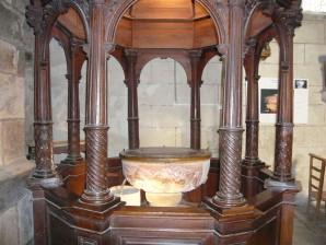 Le Faou - Fonts Baptismaux