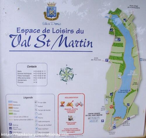 Balade autour de l'étang du Val St Martin